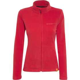 axant Nuba Fleece Jas Dames, true red